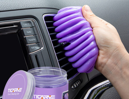 TICARVE Cleaning Gel for Car Detailing Putty  Slime Purple