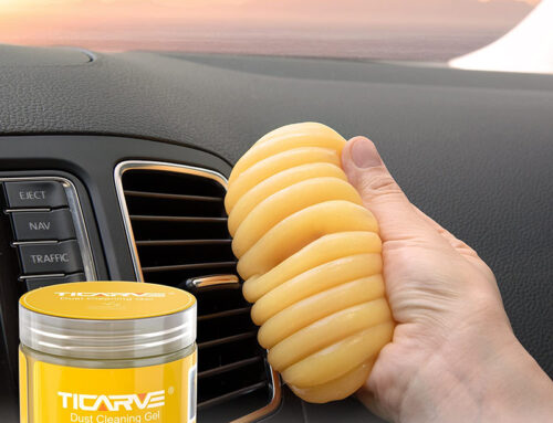 TICARVE Car Cleaning Gel Yellow